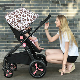 $enCountryForm.capitalKeyWord Canada - Busybaby high landscape baby stroller can sit can lie lightweight portable baby carriage bidirectional folded in the summer