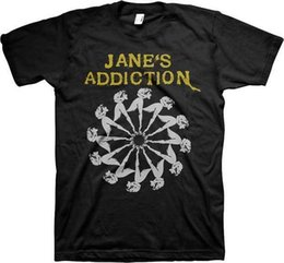 $enCountryForm.capitalKeyWord Canada - JANES ADDICTION - Lady Wheel - T SHIRT S-M-L-XL-2XL Brand New - Official T Shirt
