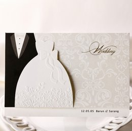 Groom Party Decorations NZ - The Bride and Groom wedding invitations card event Party supplies Invitations de boda wedding Party decorations