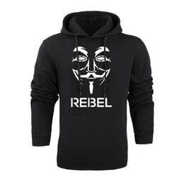 $enCountryForm.capitalKeyWord UK - V for Vendetta Sweatshirt Fleece Designer Pattern Print Hoodie Soft Rib Bottom Hooded Sweatshirt Men Casual Hoodie