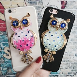Cute Owl Phone Cases NZ - Phone case Luxury for Apple iPhone X 7 8 plus Cute Owl Soft Silicon Cases Lovely Cartoon Back Cover Fundus