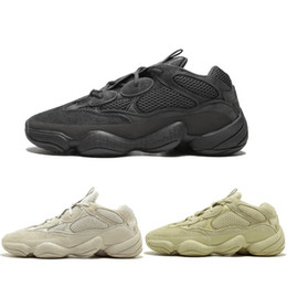 Wholesale Desert Rat M Supper Moon Yellow Blush Utility Black Mens Designer Shoes Running Sneakers Cow Leather Sport Casual Shoes
