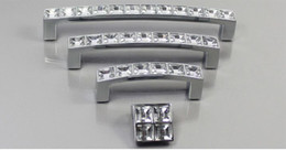 $enCountryForm.capitalKeyWord Australia - European Elegant Silver Diamond Crystal Handles Home Ornaments Modern Minimalist Cabinet Drawer Wardrobe Door Zinc Alloy Pulls