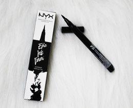 Discount wholesalers nyx cosmetics - Low price NYX Epic Ink Liner nyx Black eyeliner pencil Headed makeup liquid Black Color eye liner waterproof Cosmetics L