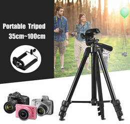 Discount camera stands for phones - Tripod Universal Portable Digital Camera Camcorder Tripods Stand Light weight Aluminum tripe tripode for Canon Nikon Son