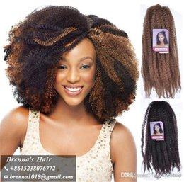 synthetic afro hair braid 2019 - Kinky mali twist hair extension in synthetic braiding hair afro kinky crochet braids crochet braid hair,crochet hair ext