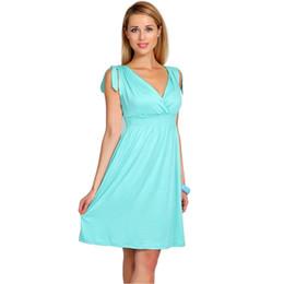 2ae2f088184 2018 Summer Maternity Dresses V-neck Breastfeeding Maternity Clothes For Pregnant  Women Pregnancy Clothing Vestidos