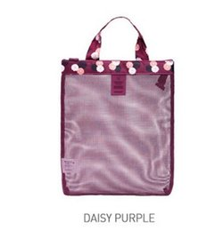 Door bag net online shopping - Summer Swimming Lady Reseau Mesh Packet Sandy Beach Travel Shopping Storage Net Wash Bag Motion Handbag ph bb