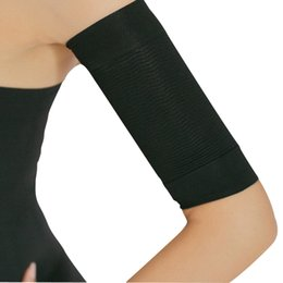 48fae1c6a8f 1 Pair Burn Fat Weight Loss Arm Shaper Fat Buster Off Cellulite Slimming  Wrap Belt Band for Women Lady Girl