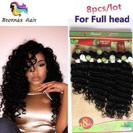12 Inch Weft Human Hair Australia - Ombre 8pcs Mongolian Human Hair Wefts Deep Wave Loose Wave Virgin Hair Weaving No Shedding Double Weft 8 10 12 14 inch