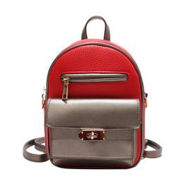 f2509877cd908 Große Rucksäcke Rucksack Tasche Gym Reisegepäck Mode Rucksäcke Designer  2018 Mode Damen Dame schwarz rot weiß rosa