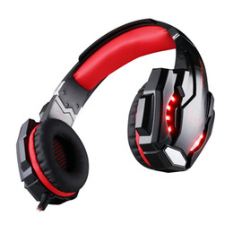 Chinese  KOTION EACH G9000 7.1 Surround Sound Gaming Headset 3.5mm Computer Game Headphone With Mic LED Light For Tablet PC PS4 Phones 1pcs lot manufacturers