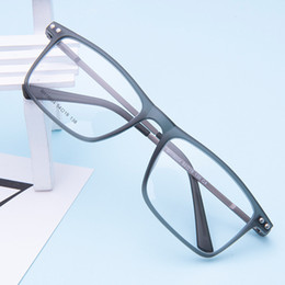 9c414a37781 TR90 Glasses Frame Myopia Eye Glass Prescription Eyeglasses 2018 Korean  Screwless Optical Frames Eyewear