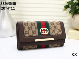 Standard Satin online shopping - 2018 Male luxury wallet Casual Short designer Card holder pocket Fashion Purse wallets for men wallets purse with tags A0889