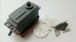 teeth modelling NZ - RC model servos 30KG metal teeth digital servo model car accessories