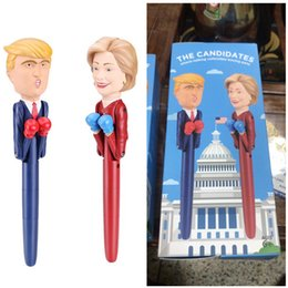 $enCountryForm.capitalKeyWord NZ - 2018 The Candidate Donald Trump Decompression Pen Boxing President Fight Sounds Pens America Great USA Intelligent Toys Pen Fancy Gift