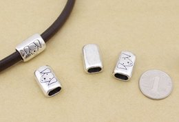 $enCountryForm.capitalKeyWord NZ - 10pcs lot vintage hollow Curved Tube Spacer Beads jewelry Charms tube beads dog beads F1086