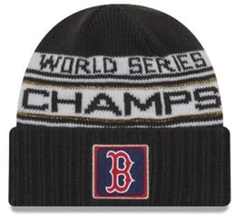 Linen goLd online shopping - factory price Boston WS Champions World Series cap Champs Knit Adjustable hat Caps Baseball High Quality Sports Cap