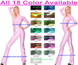 $enCountryForm.capitalKeyWord Canada - Sexy Dance Costumes New 15 Color Shiny Lycra Metallic Suit Catsuit Costumes Unisex Shiny Body Suit Dance Costumes Unisex Bodysuit Outfit 231
