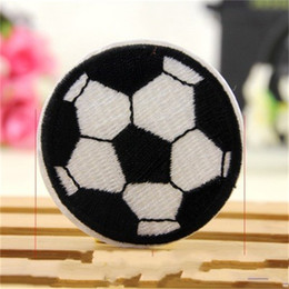 Dress stamps online shopping - Football Paste Computer Embroidery Back Applique Garment Accessories Dress Patch Print Patches Badges Soccer Hot Stamping Patch dk dd
