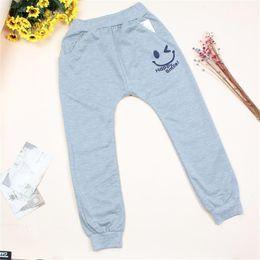 Hot Boys Pants Sports NZ - Free Shipping New 2018 Hot Sale Children cotton pants Boys Girls Casual Pants 2 Colors Kids Sports trousers Harem pants