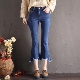 $enCountryForm.capitalKeyWord NZ - Women's Brand High Waist Denim Casual Slim Jeans Retro Pants Jeans Pencil Spring Summer High Quality Large Size Pants Girls