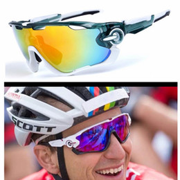 cycling sunglasses interchangeable lenses 2019 - Fashion Cycling Glasses Sports Sunglasses Cycling Sunglasses Polarized Women Men Interchangeable 3 Lens Bicycle Goggles