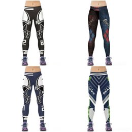 Discount patterned yoga pants - Yoga Pants Women 2017 High Waist Quick Dry Mesh Print Hot Sale Running Sport Leggings Female Fitness Rugby Pattern Close