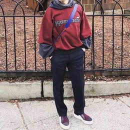 79ddfc19e Gosha Rubchinskiy Canada - 18FW Gosha Rubchinskiy Hooded Sweatshirts Kanye  West Cotton Hoodies Men Women Couple