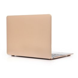 $enCountryForm.capitalKeyWord NZ - Free Shipping High quality High Temperature metallic Colorful Protective shell Apple Laptop PC Case for Macbook 12 Inch
