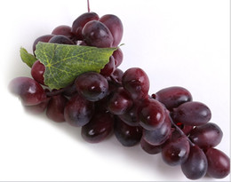 $enCountryForm.capitalKeyWord NZ - Artificial Green Purple Grape Cluster Simulation Fake Fruit House Kitchen Party Decoration Lifelike Still Life Paintings Storefront Decor
