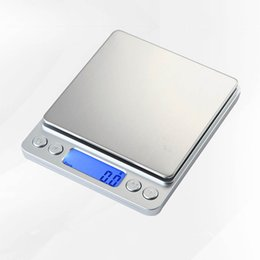 3000 جرام / 0.1 جرام 500 / 0.01 جرام lcd المحمولة البسيطة الرقمية الموازين الجيب حالة البريدي مطبخ مجوهرات الوزن الرصيد مقياس رقمي I2000