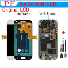 Touch Screen For Galaxy S4 Canada - Original For Samsung Galaxy S4 Mini i9190 lcd assembly digitizer + Touch Screen complete Assembly + free Repair tools
