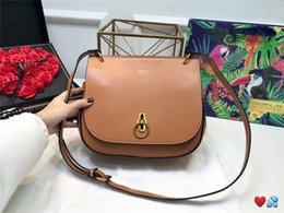 Vintage saddles online shopping - women designer crossbody bag saddle bags luxury famous brand handbag fashion vintage style good quality leather