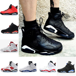 $enCountryForm.capitalKeyWord Australia - 2018 Top quality 6s Sports Sneakers Wholesale Hot Sale shoes 6 Black Cat Men Women Basketball Shoes for Free Shipping