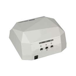 Chinese  Sensor Nail Dryer&FREE SHIPPING 36W LEDUV&CCFL Light Dimond Shape Gel Curing Lamp Drying Gel Polish Tools &Original Box manufacturers