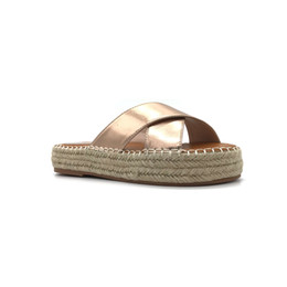 34f85a265df23f Ladies Moccasins Shoes UK - Fashion women slippers special metal colors  ladies moccasin shoes women casual