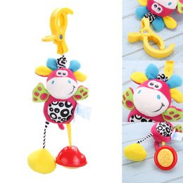 hot beds Australia - Education Hot Infant Toys Mobile Baby Plush Toy Bed Wind Chimes Rattles Bell Toy Baby Crib Bed Hanging Bells Toys