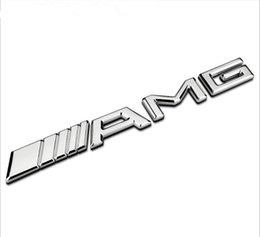 Automodellierung 3D AMG Metallaufkleber für Mercedes W203 W210 W211 W204 Benz CES CLS Automodellierung im Angebot