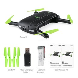 Discount pocket record - DHL JJRC DHD D5 Selfie FPV Drone With HD Camera Foldable RC Pocket Drones Phone Control Helicopter Mini Dron VS JJRC H37