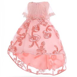 $enCountryForm.capitalKeyWord UK - Children's clothing girl princess party dress kids first communion formal prom dress bead baby girl tutu clothes wedding costume