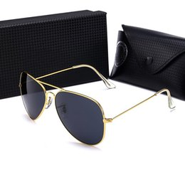 Wayfarer Black White Australia - Luxury Ray Brand Sunglasses Designer Women Sunglasses Vintage Pilot Sun Glasses Bans UV400 Band Men Aviator Wayfarer Ben Cycle Sunglasses