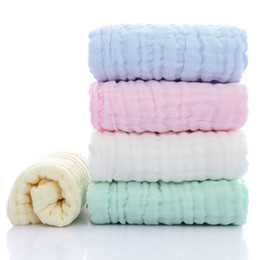 Discount cotton baby washcloths - Hot Sale Baby Soft Bath Towel Washcloth Bathing Feeding Wipe Cloth Cotton Soft Natural Harmless Infant Comfortable Good