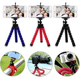Universal flexível mini stand tripé suporte para carro livre para iphone câmera do telefone celular 2018 polvo tripé portátil bba142