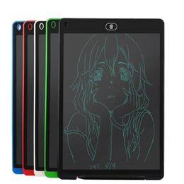 Tablet 12 NZ - 12 Inch Writing Tablet Writing Board LCD Crystal Display Painting Tools for Children puzzle Drawing Board Toys for Kids Gift