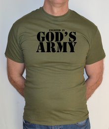 07d98f75b6 ODS ARMY,JESUS,CHRISTIAN,GOD,RELIGION,FUN,T SHIRT Funny free shipping  Unisex Casual tee gift