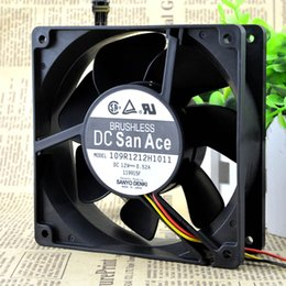 12 Cm Fan Australia - For brand new authentic mountain ocean 12 cm 12038 server chassis fan 12V 0.52A 109R1212H1011