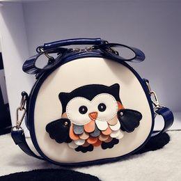 $enCountryForm.capitalKeyWord NZ - Kukucos Cartoon New Owl Female Tide Bag Korean Creative Personalized Funny Mini Messenger Bag