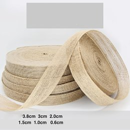 Pack Supplies Australia - Natural fish silk hemp lace ribbon DIY handicraft Flower packing Home wedding Party earrings decoration Many size
