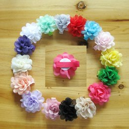 $enCountryForm.capitalKeyWord Australia - Baby Girls 5cm Chiffon Flowers For headbands Kids Hair Clips Children Headwear Hairpin Girls Hair Clips Baby Hair Accessories